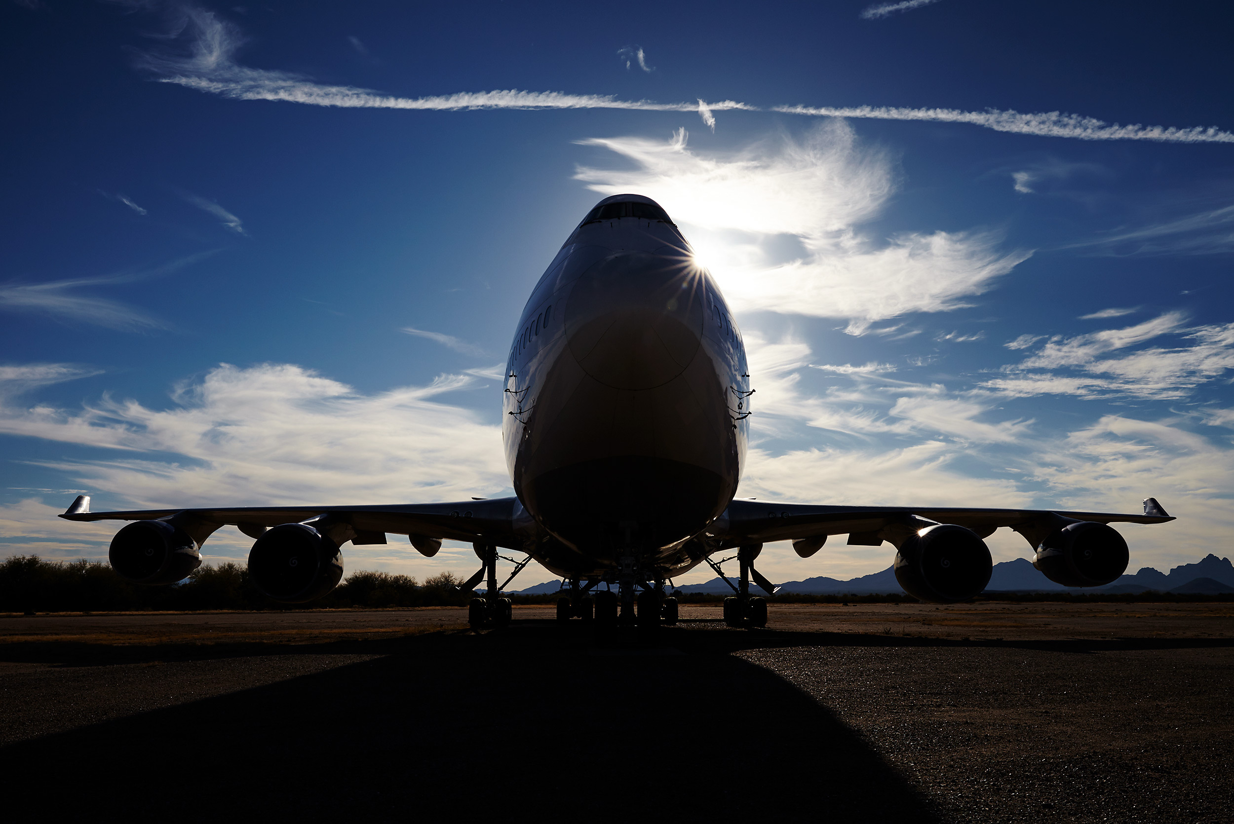 747 parked - Steve Craft Photography - Phoenix Arizona Aviation Photographer