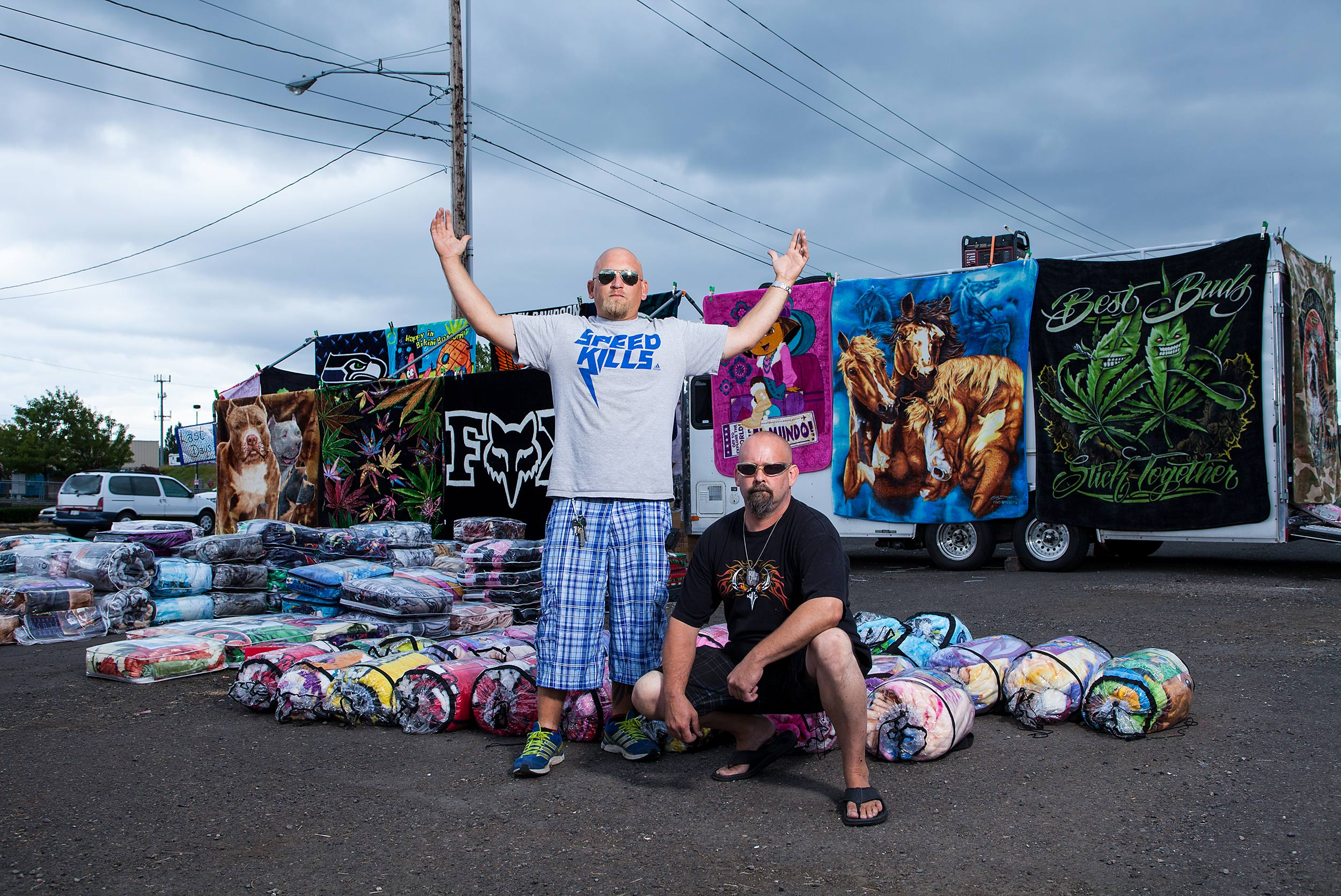 Blanket salesmen - Steve Craft Photography - Phoenix Arizona Commercial Photographer