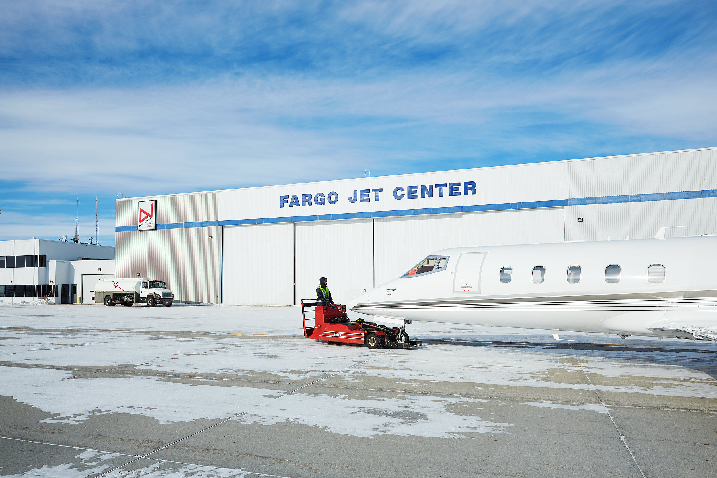 Fargo Jet Center - Steve Craft Photography - Phoenix Arizona Commercial Photographer