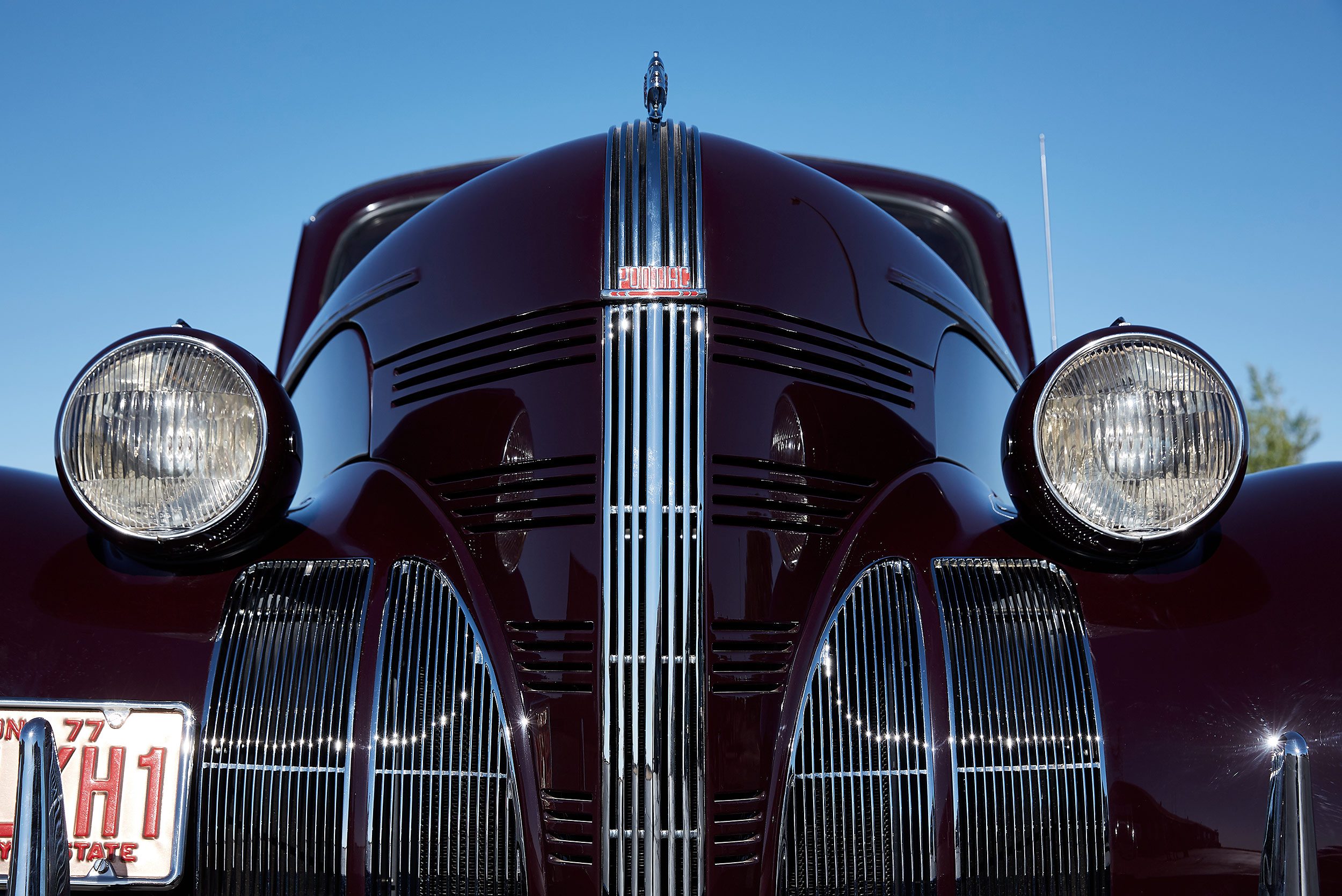 Frone end 1939 Pontiac Woodie - Steve Craft Photography - Phoenix Arizona Editorial Photographer
