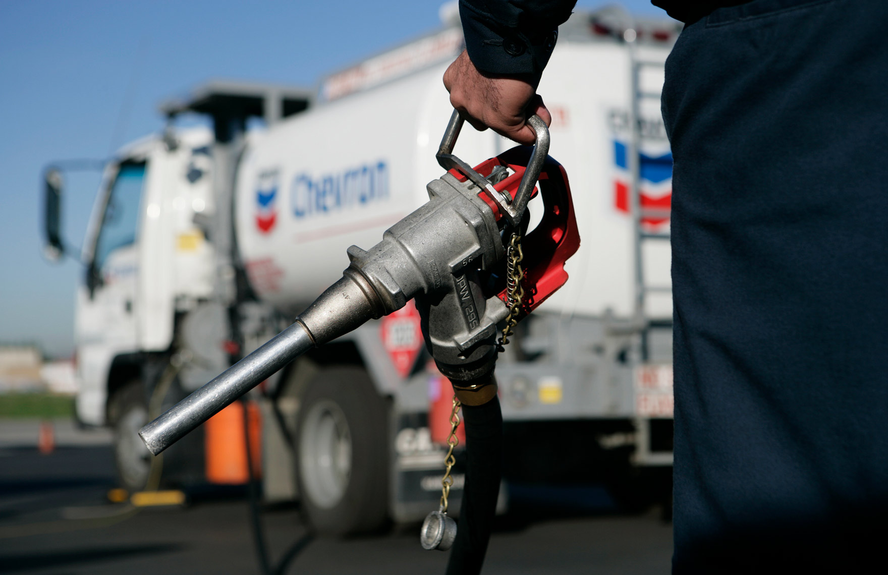 Chevron Fueler at VNY - Aviation Photographer- Steve Craft Photography - Phoenix, Arizona - Portrait