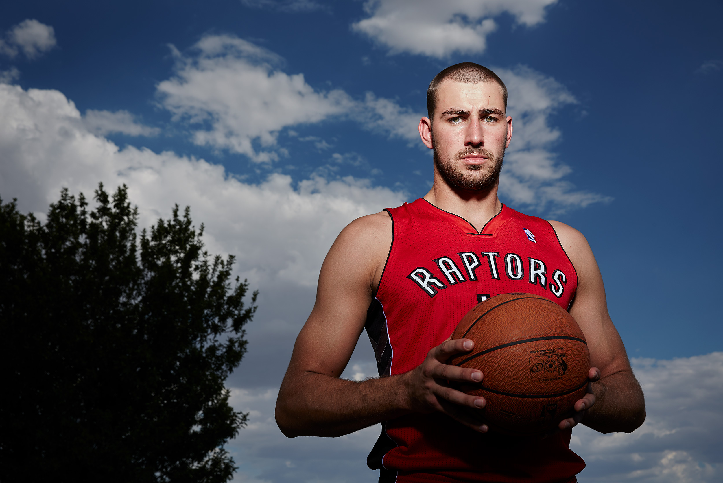 Jonas Valanciunas - Steve Craft Photography - Phoenix Arizona Editorial Photographer