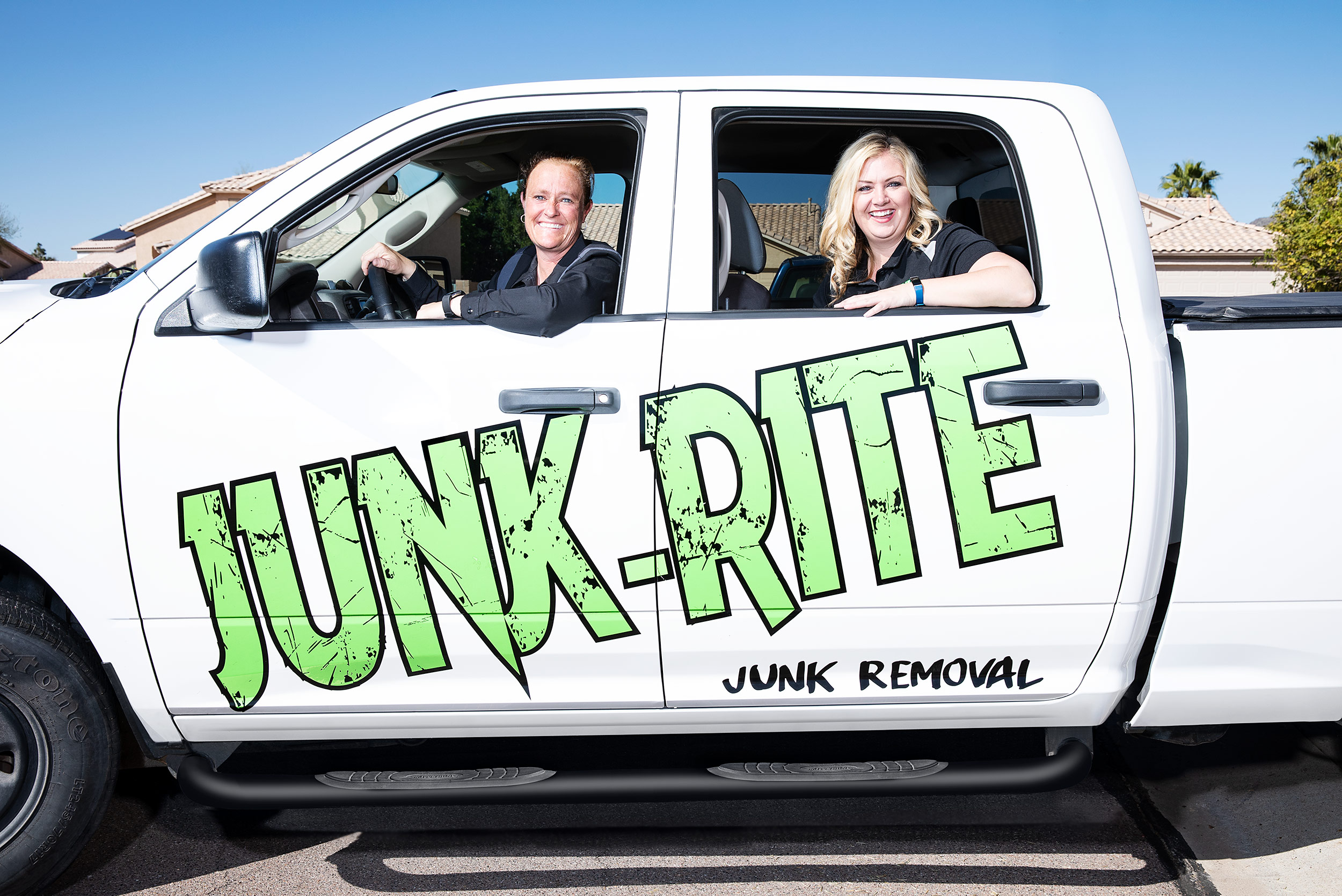 Keap Software - Junk Rite - Steve Craft Photography - Phoenix Arizona Advertising Photographer