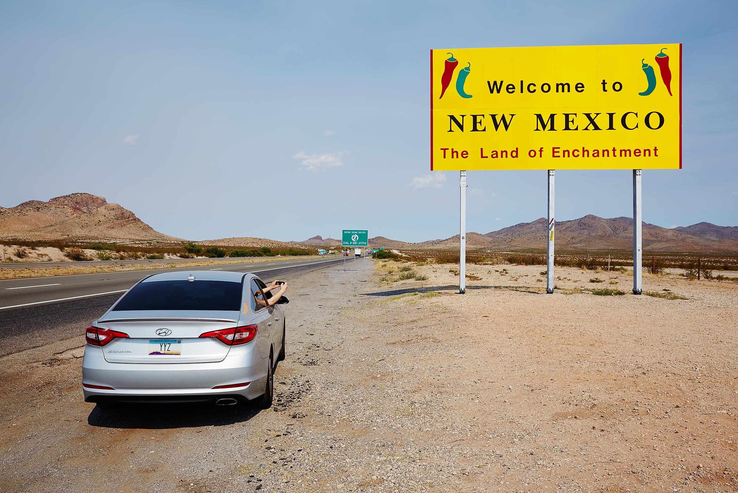 New Mexico border - Steve Craft Photography - Phoenix Arizona Travel Photographer