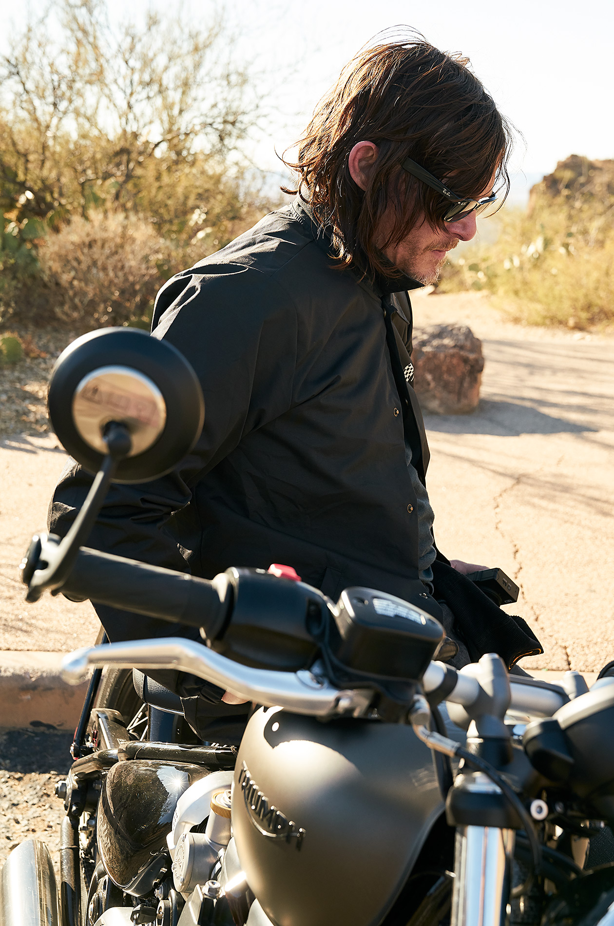 Norman Reedus for AMC - Steve Craft Photography - Phoenix Arizona Photographer