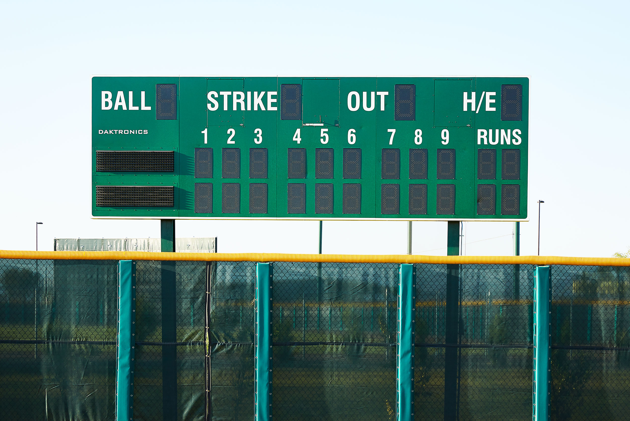 Scoreboard Sloan Park - Steve Craft Photography - Phoenix Arizona Corporate Photographer