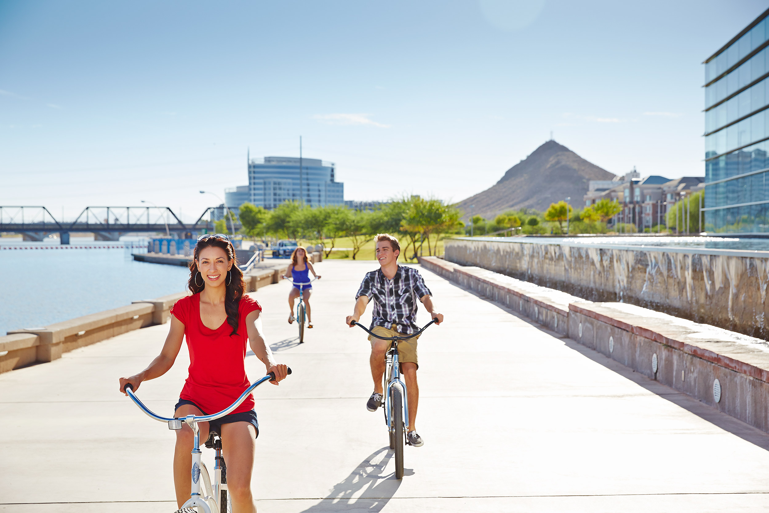 Tempe Tourism Biking - Steve Craft Photography - Phoenix Arizona Commercial Photographer